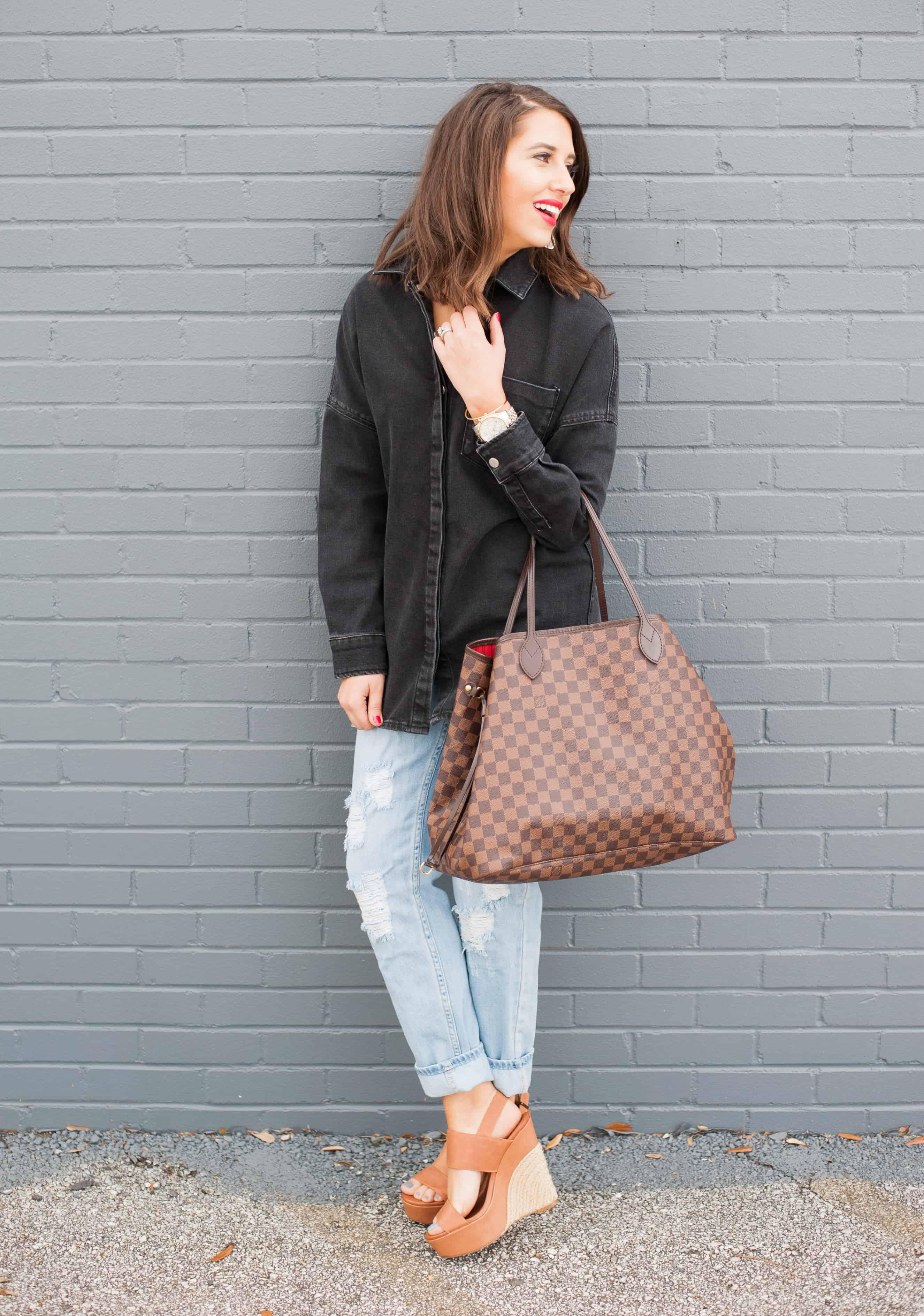 Dress Up Buttercup | Houston Fashion Blog - Dede Raad | Washed Denim