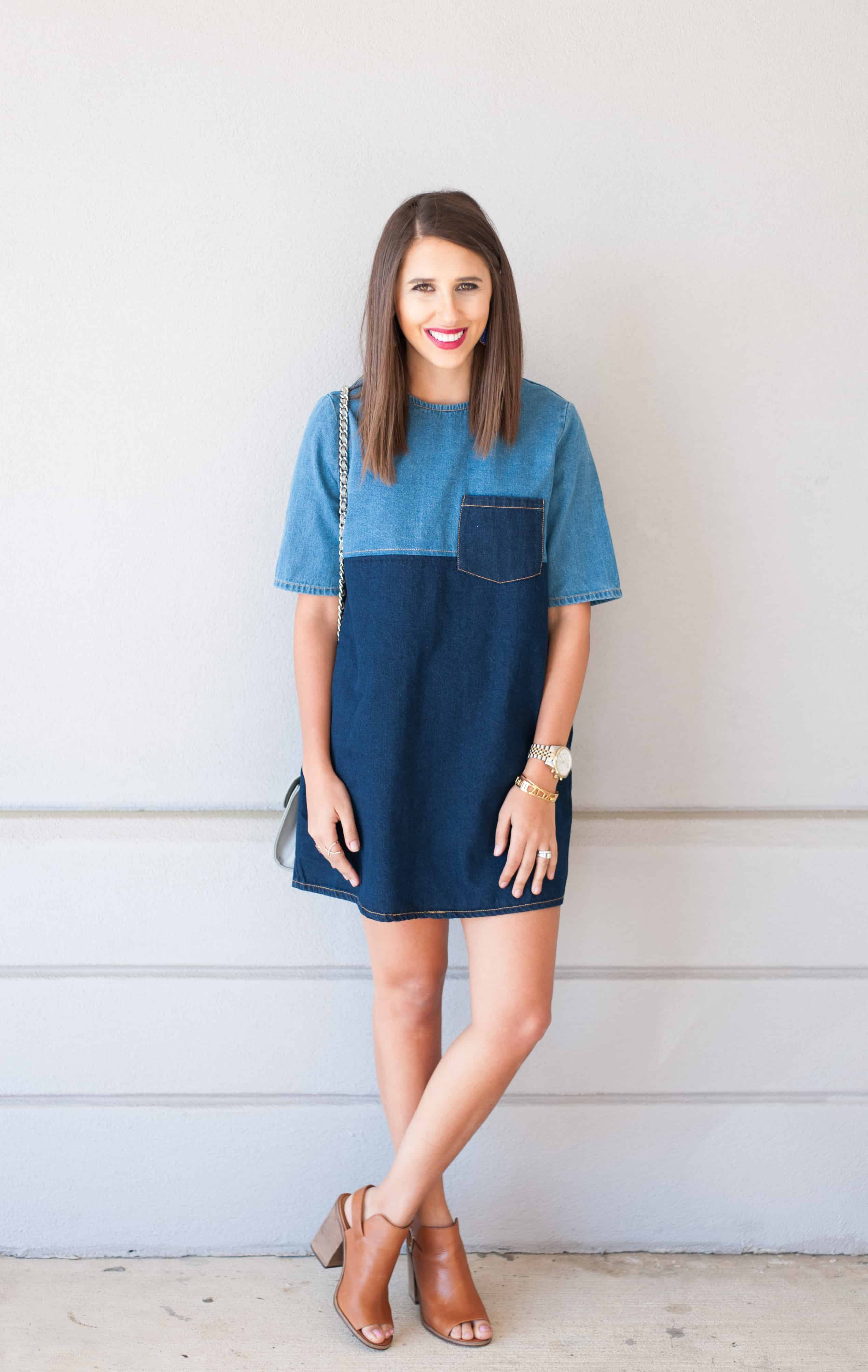 Dress Up Buttercup // A Houston-based fashion and inspiration blog developed to daily inspire your own personal style by Dede Raad | Colorblock Denim