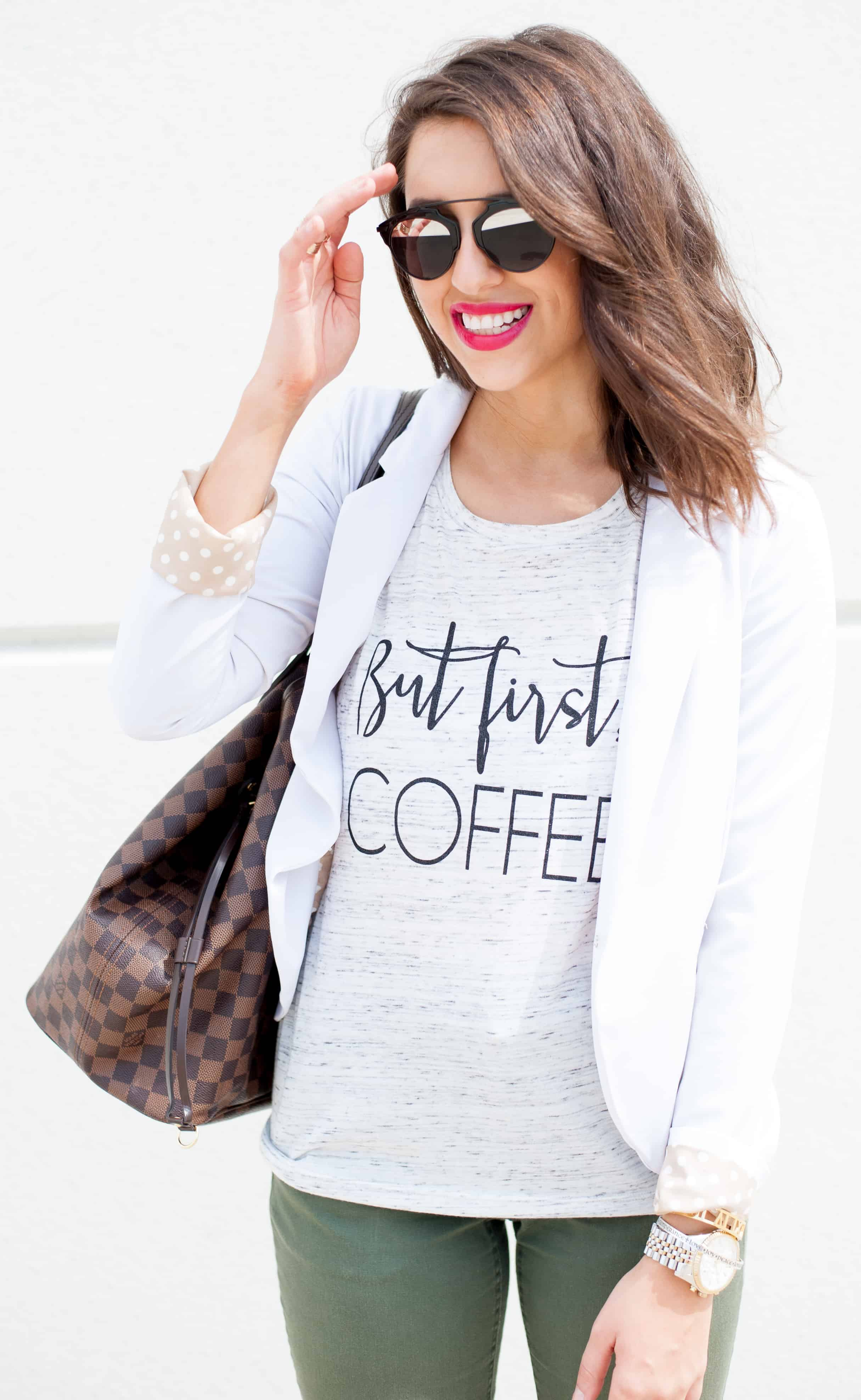 Dress Up Buttercup // A Houston-based fashion and inspiration blog developed to daily inspire your own personal style by Dede Raad | How to Dress Up A Tee to The Office