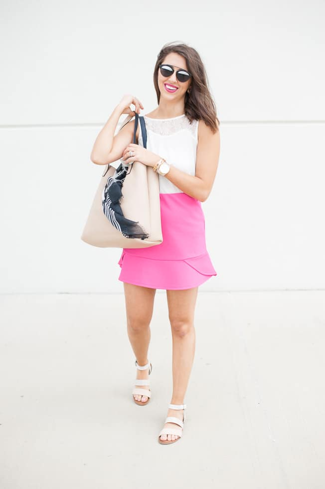 Dress Up Buttercup // A Houston-based fashion and inspiration blog developed to daily inspire your own personal style by Dede Raad | A Spring Fling with Pink