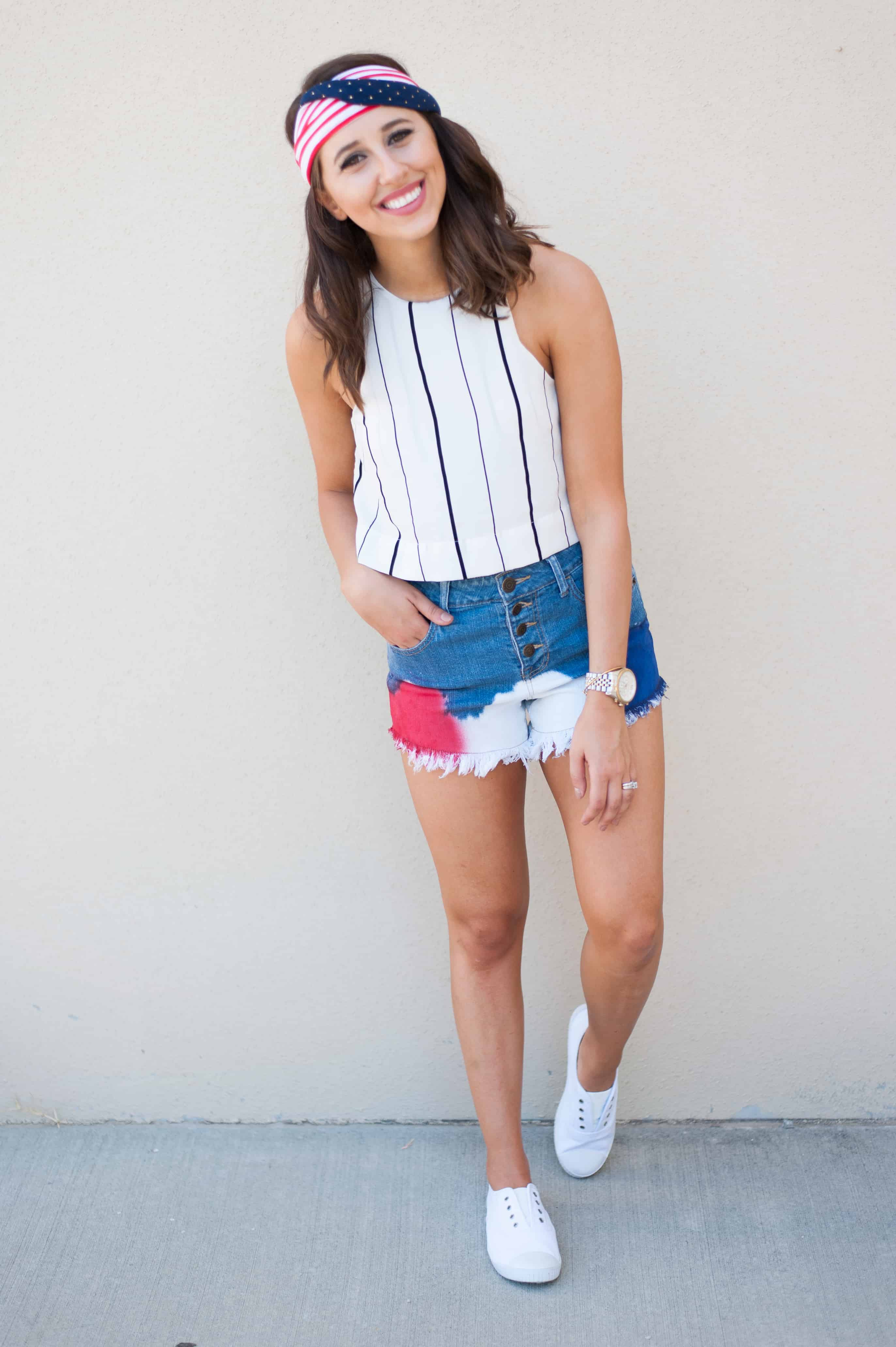 Dress Up Buttercup // A Houston-based fashion and inspiration blog developed to daily inspire your own personal style by Dede Raad | Tis the season of red white blue