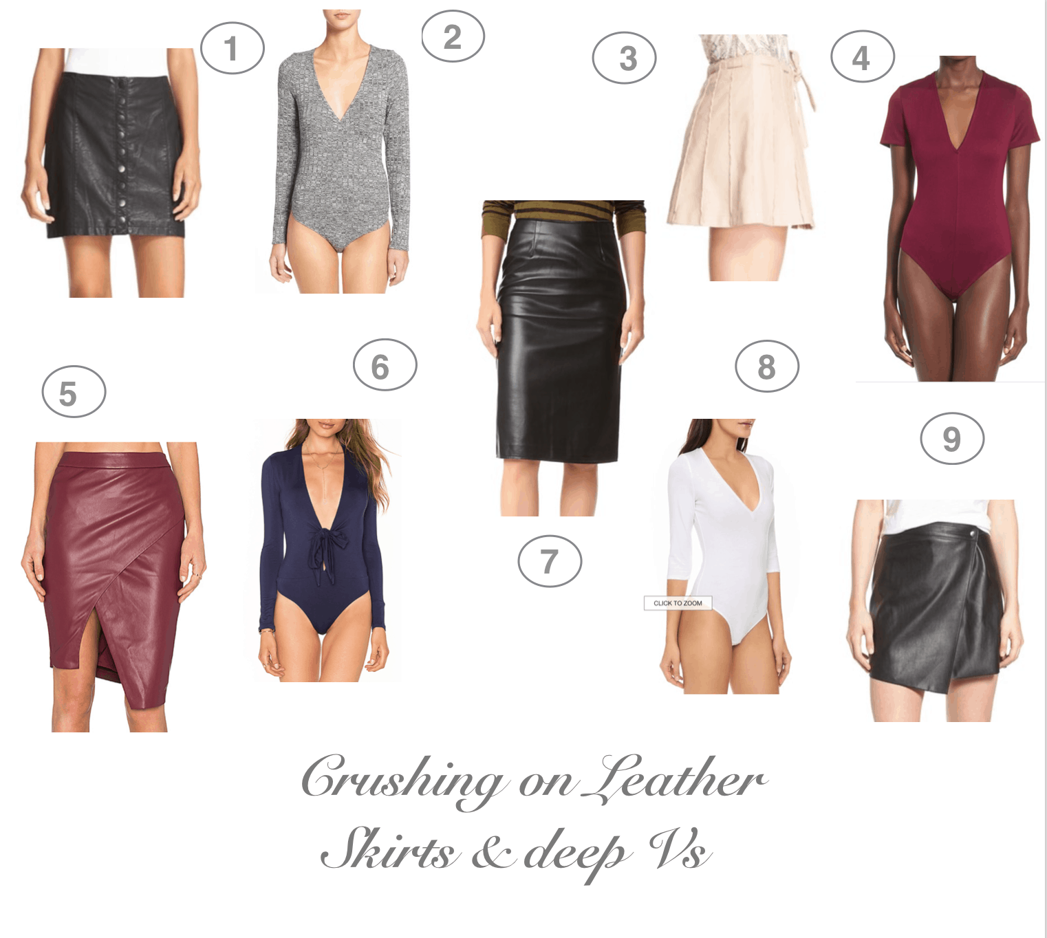 Dress Up Buttercup   Houston Fashion and Travel Blog - Dede Raad   Crushing on Leather Skirts & Deep V's