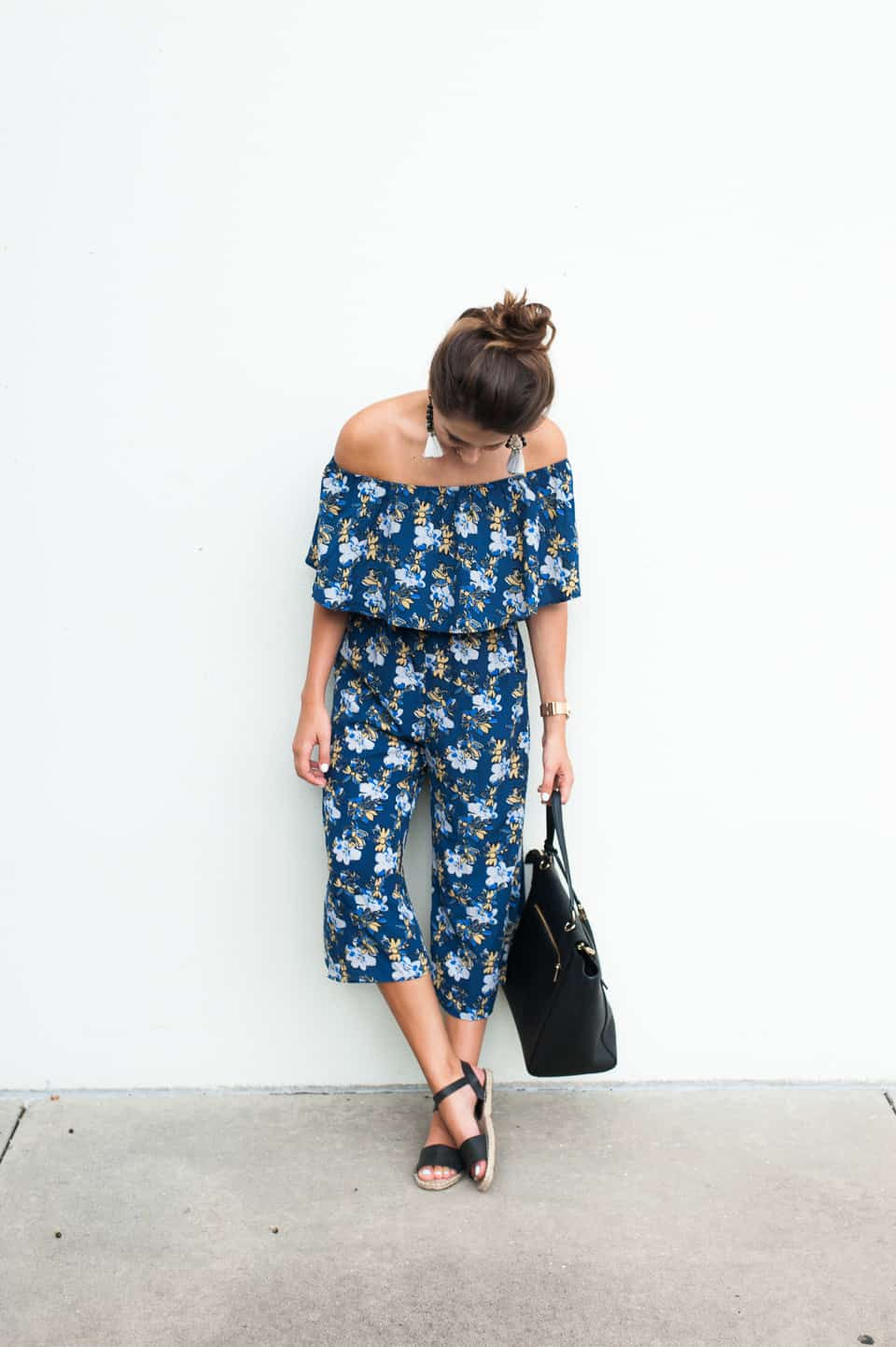 Dress Up Buttercup   Houston Fashion Blog - Dede Raad   Floral Jumper