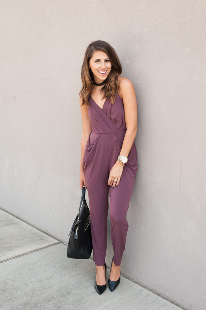 Dress Up Buttercup // A Houston-based fashion and inspiration blog developed to daily inspire your own personal style by Dede Raad | Skinny Jumpsuit
