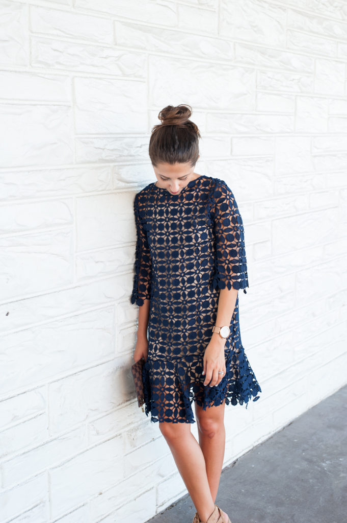 Dress Up Buttercup | Houston Fashion Blog - Dede Raad | Darling Crochet Dress