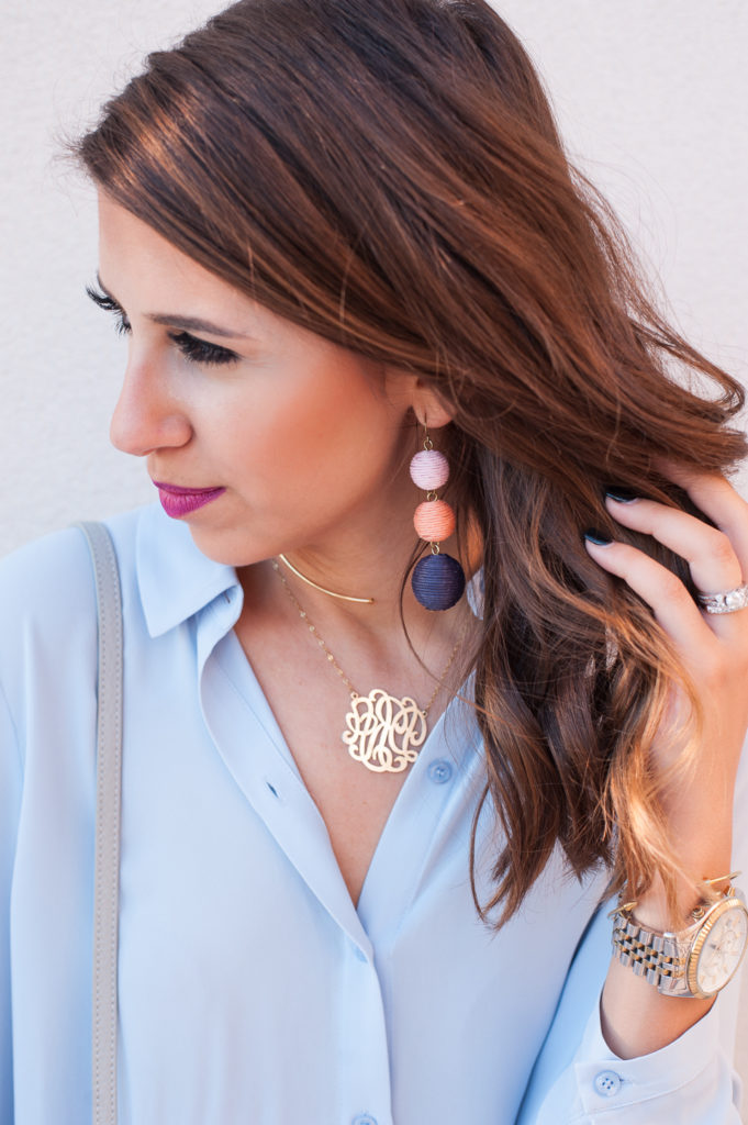 Dress Up Buttercup // A Houston-based fashion and inspiration blog developed to daily inspire your own personal style by Dede Raad | How to Wear Serenity Blue