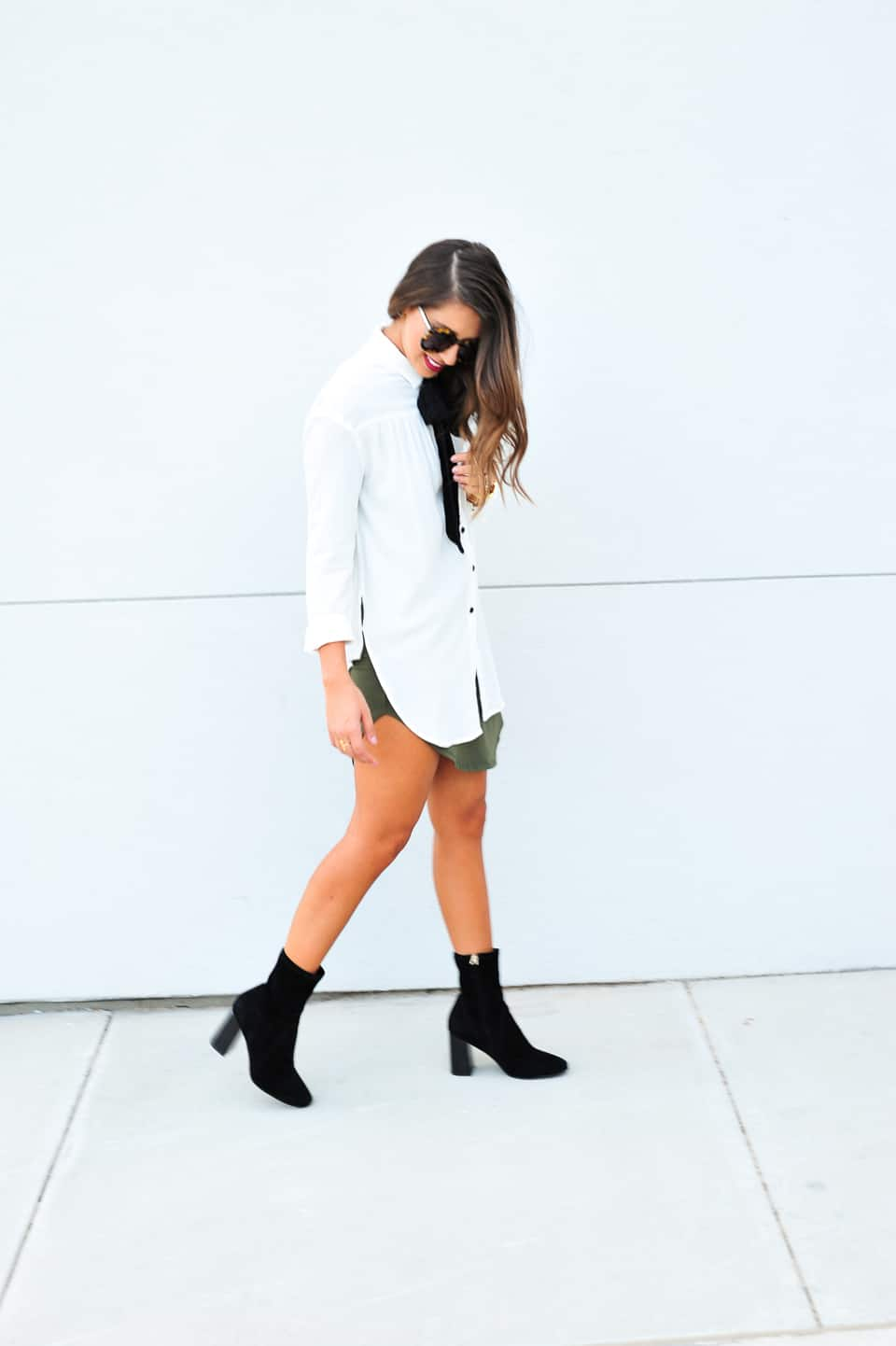 Dress Up Buttercup // A Houston-based fashion travel blog developed to daily inspire your own personal style by Dede Raad | How to wear a shirt over a dress