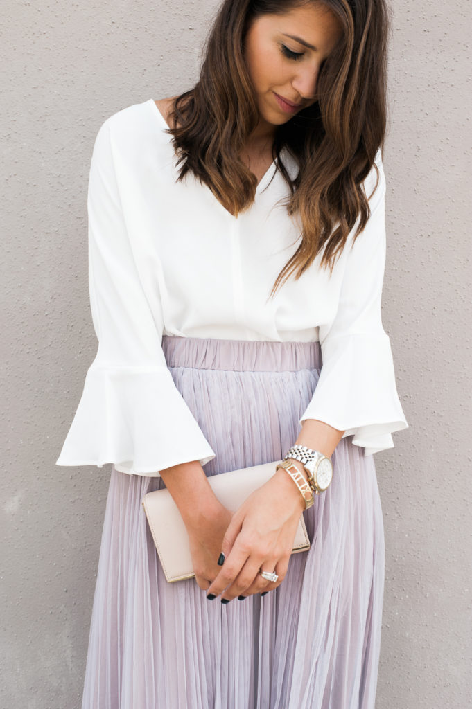 Dress Up Buttercup // A Houston-based fashion and inspiration blog developed to daily inspire your own personal style by Dede Raad | Tulle Maxi Skirt