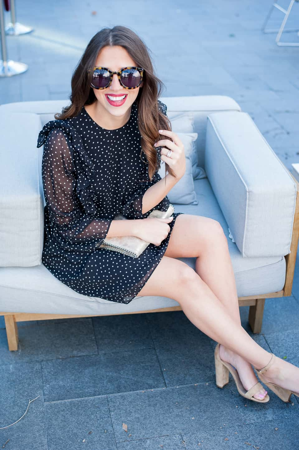 Dress Up Buttercup // A Houston-based fashion travel blog developed to daily inspire your own personal style by Dede Raad | Polkas for Winter