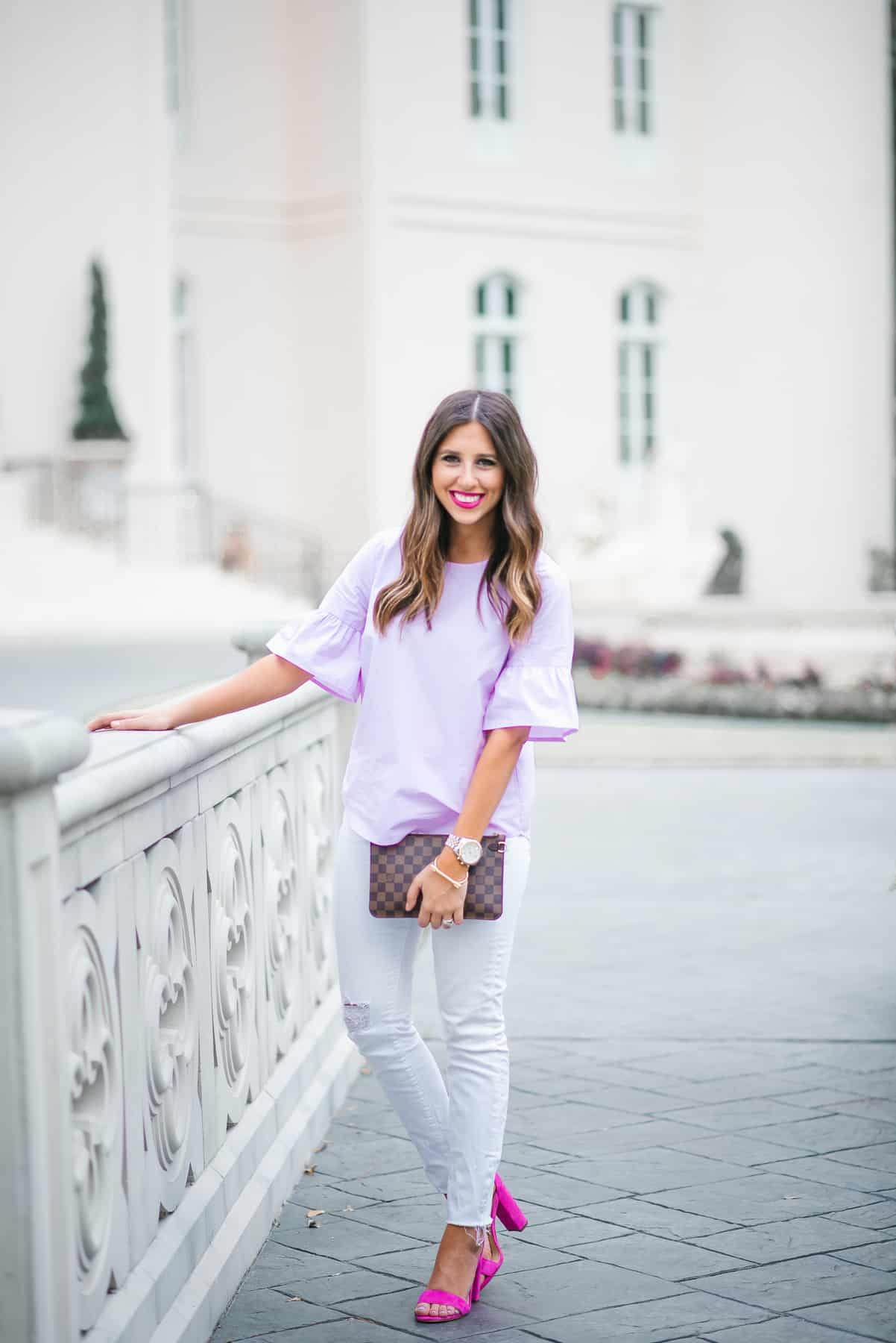 Dress Up Buttercup // A Houston-based fashion travel blog developed to daily inspire your own personal style by Dede Raad | Day to Night Look With the Right Shoes