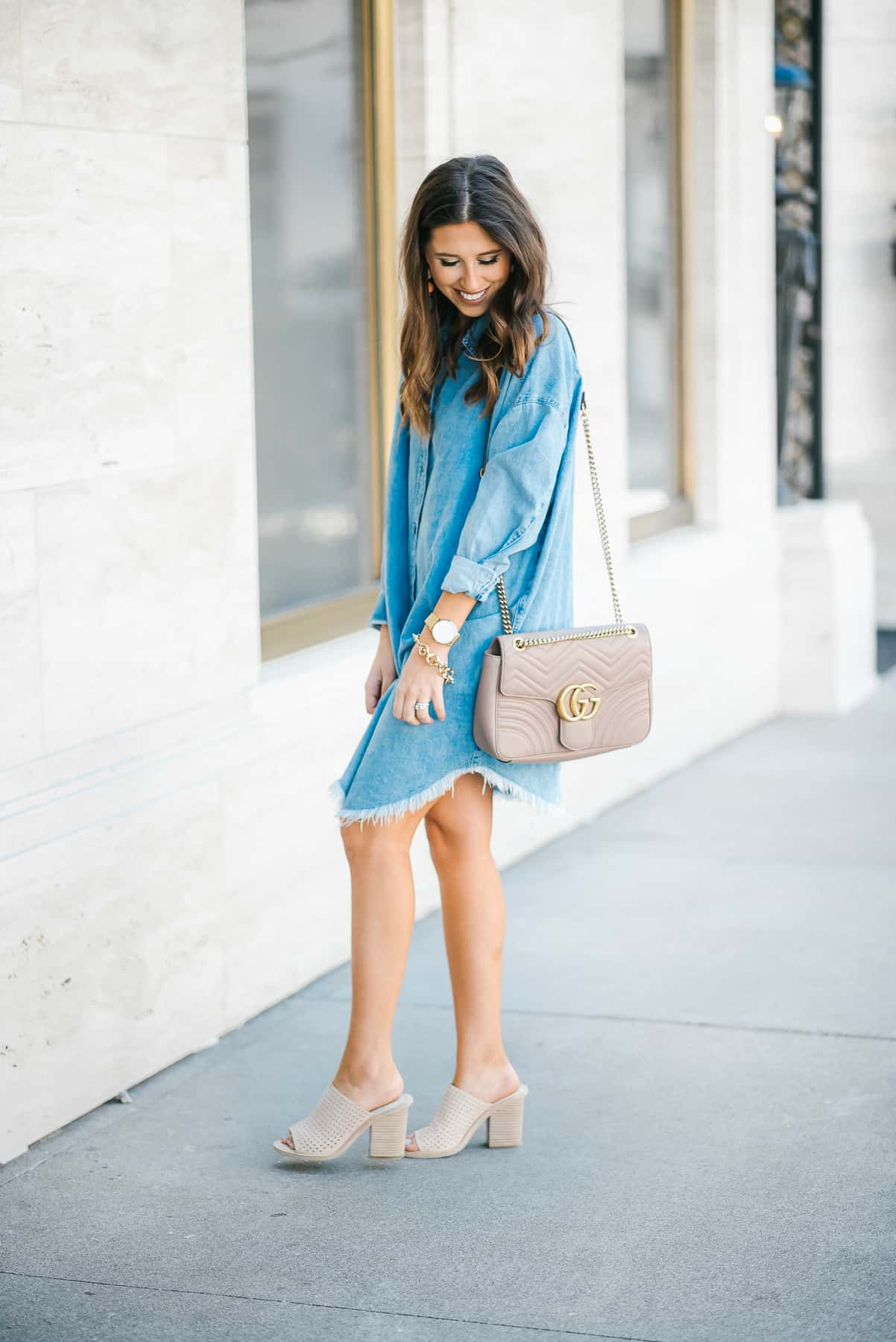 Dress Up Buttercup // A Houston-based fashion travel blog developed to daily inspire your own personal style by Dede Raad   Running Around Town in Slides