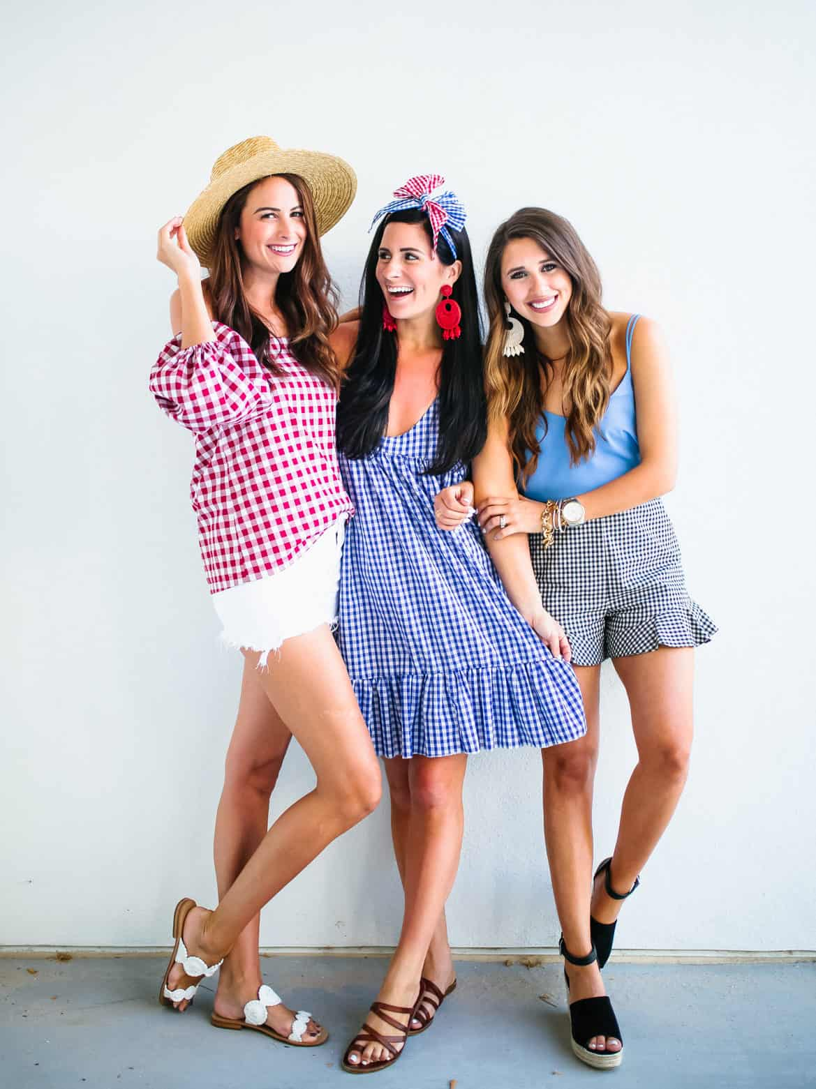 Gingham with the Girls