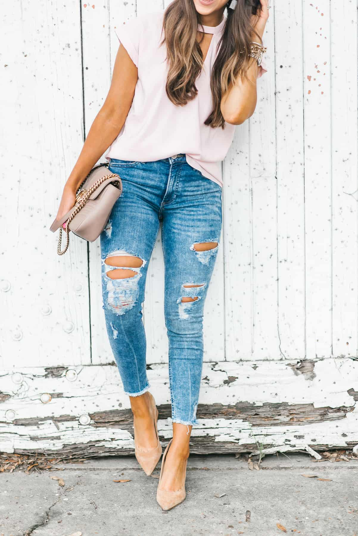 Dress Up Buttercup, Dede Raad, Houston Blogger, Fashion Blogger, Best Distressed Denim