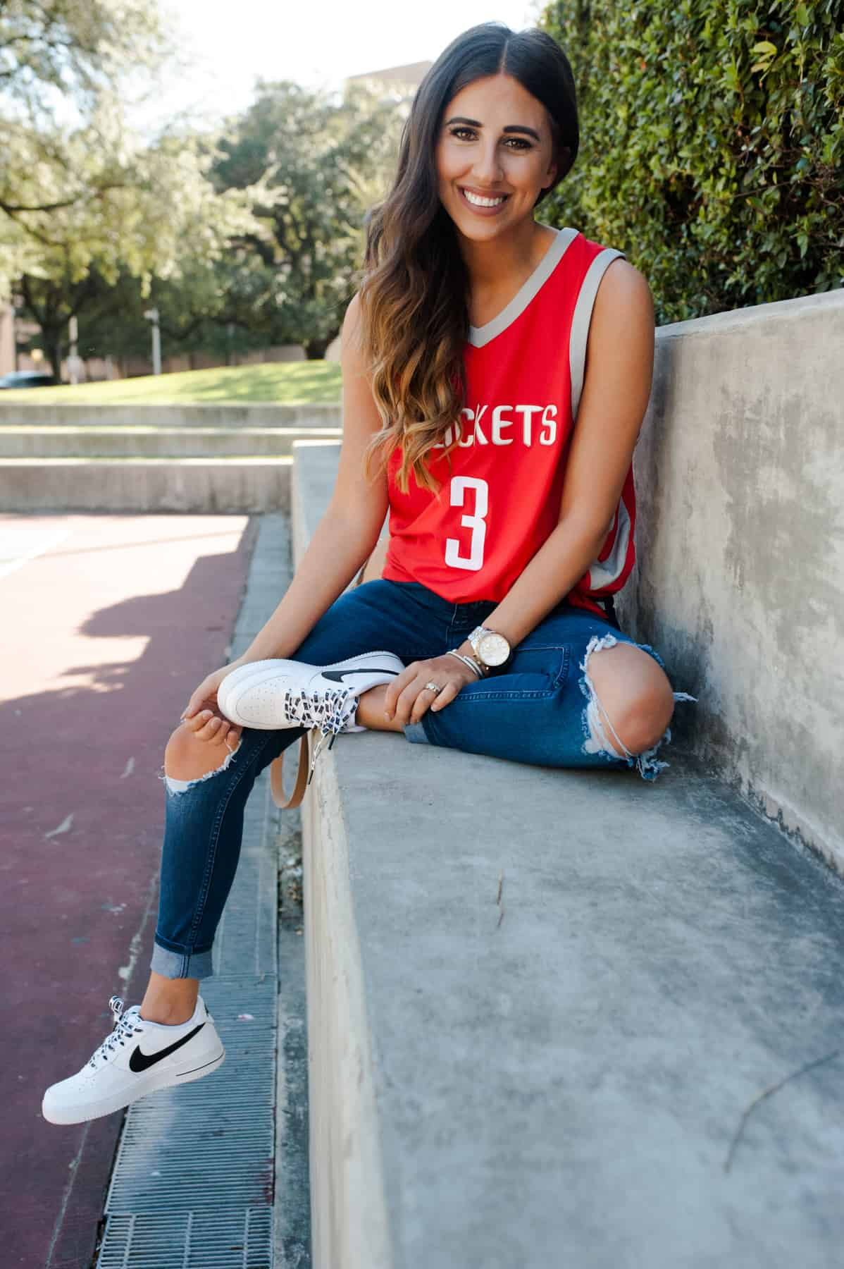 How to Style Your Home Teams Jersey 3 Different Ways | Dress Up Buttercup